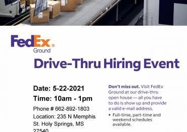 FedEx Hiring Event